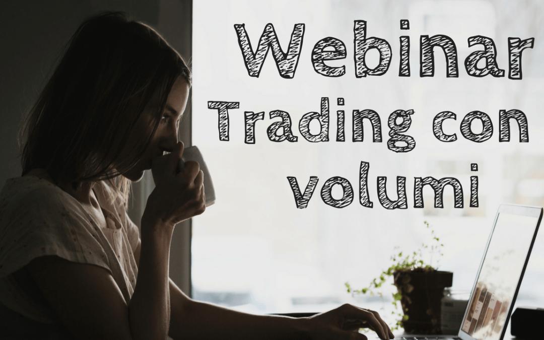 Webinar di Trading con i Volumi