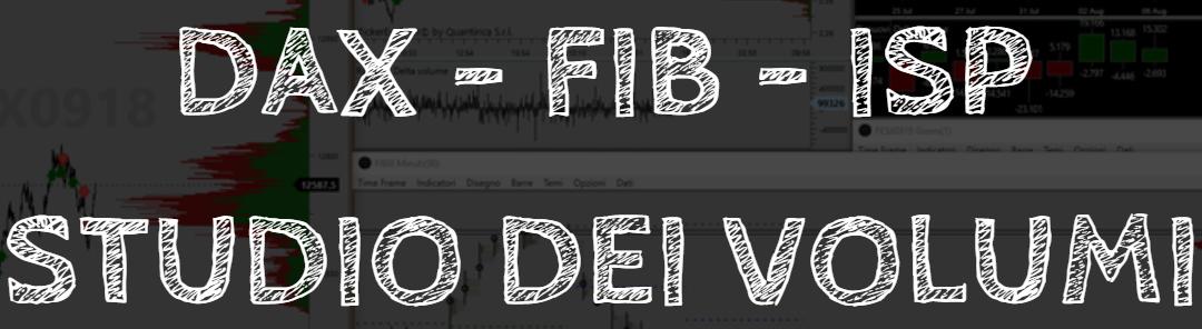 Studio dei volumi su DAX – FIB – ISP