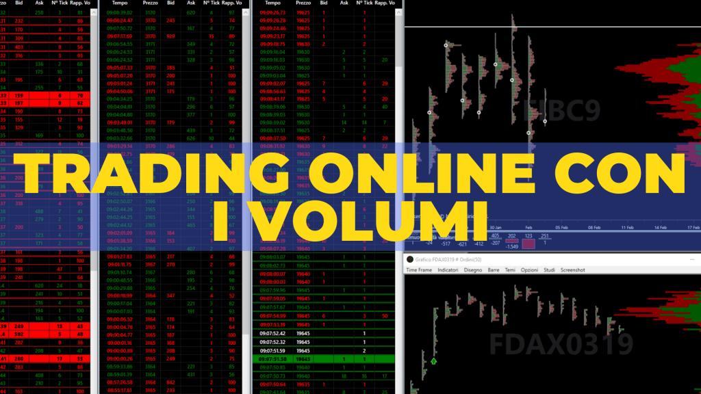 trading online con i volumi