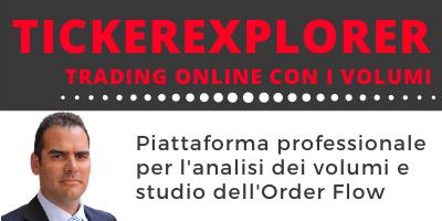 TickerExplorer piattaforma professionale per il trading online