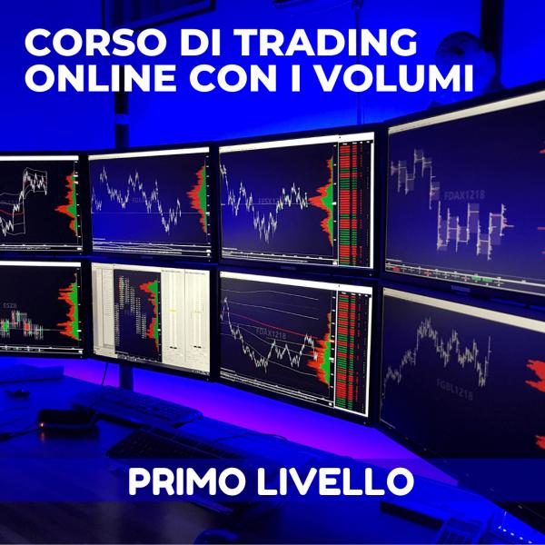 Corso di trading con i volumi primo livello