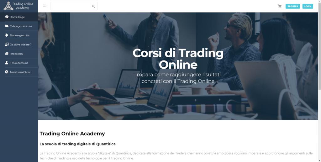 Video corsi di trading online
