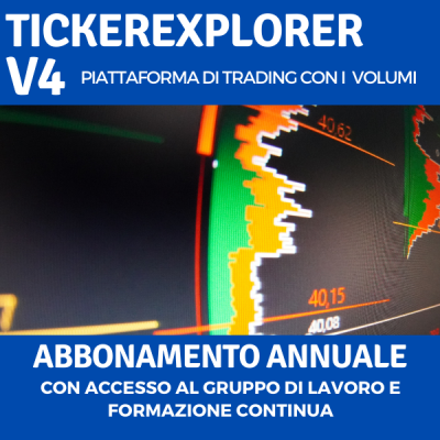 Piattaforma Trading Volumi TickerExplorer V4 abbonamento annuale